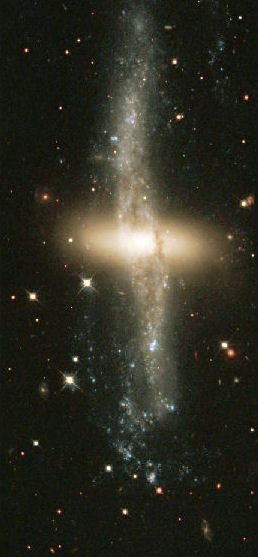 Polar Ring Galaxy in NGC 4650A
